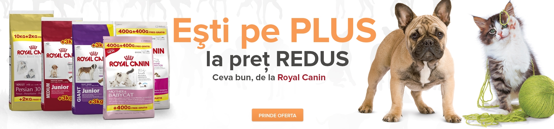 Banner promotie royal canin