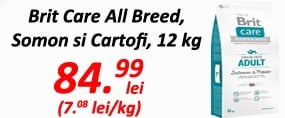 Brit Care All Breed Somon si Cartofi 12 kg 23.08