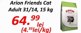 Arion Friends Adult Cat 31/14, 15 kg - 22.08