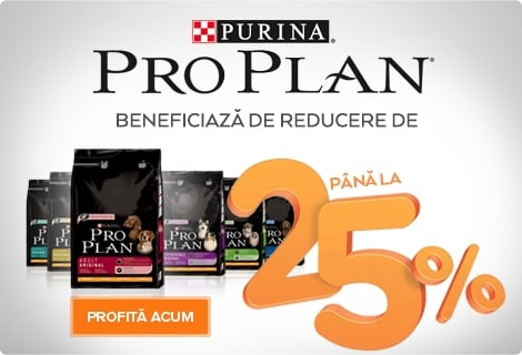 pro plan caine reducere 25%