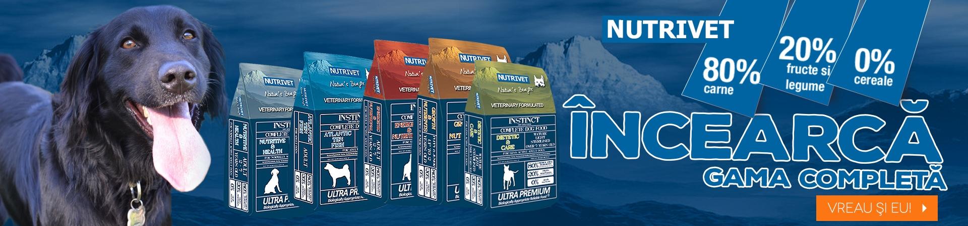 Banner Nutrivet oferta completa