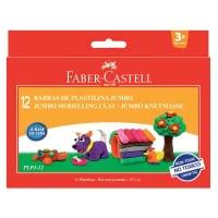 Plastelina 12 Culori Faber-Castell