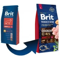 Brit Premium by Nature Adult L, 15 kg