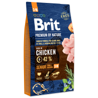 Brit Premium by Nature Senior S-M, 15 kg