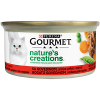 Gourmet Nature's Creations File Vita si Mazare, 85 g