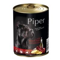 Pachet Piper Adult cu Ficat de Vita si Cartofi, 6x400 g
