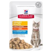 Hill's SP Feline Urinary&Hairball cu Peste Oceanic, 85 g