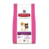 Hill's SP Canine Adult Small&Miniature Sensitive Stomach & Skin, 300 g