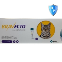 Bravecto Spot On Cat 1.2-2.8 kg, 112.5 mg, 1 pipeta