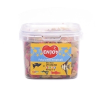 Hrana pentru pesti Enjoy Fulgi Tropicali 26 gr/225 ml
