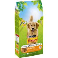 Friskies Dog Balance Pui si Legume, 2.4 kg