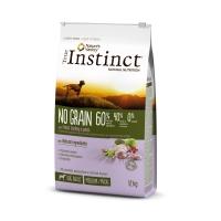 Pachet 2 x True Instinct Dog No Grain Med-Maxi Adult cu Curcan, 12 kg
