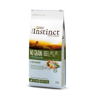 True Instinct Dog No Grain Med-Maxi Puppy cu Somon, 12 kg