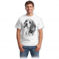 Tricou Imprimeu Beagle