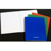 Caiet A5, 60 file - 80g/mp, liniat stanga, coperta carton laminat, AURORA - matematica