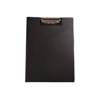 Clipboard dublu, plastifiat PVC, AURORA - negru