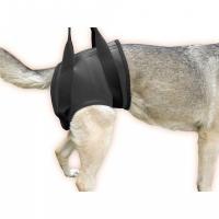 JULIUS-K9, ham reabilitare spate pentru câini, M, negru