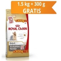 Royal Canin Yorkshire Adult, 1.5 Kg + 300 g Cadou