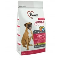 1st Choice Dog Adult, All Breeds, Sensitive Skin and Coat, 15 kg