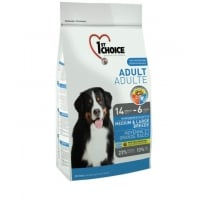 1st Choice Dog Adult, Medium and Large Breeds, 15 kg