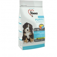 1st Choice Dog Puppy Medium and Large Breeds, 15 kg