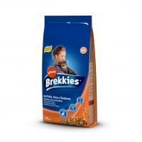 Brekkies Cat Excel Mix Pui, Legume Si Cereale, 20 kg