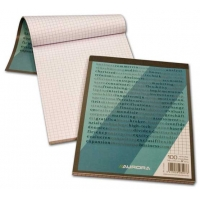 Blocnotes A5, 100 file, AURORA Bureau - matematica