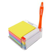 Notes autoadeziv cu suport, 76 x 76 mm - 400 file/set, 76 x 14 mm - 380 file/set, Stick