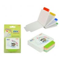 Magic tracking notes  70 x 70 mm, 4 x 25 file printate/set, Stick
