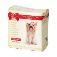 Covorase Super Absorbante 4Dog Deluxe, 60x60 cm, 10 bucati