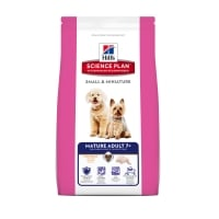 Hill's SP Canine Mature Adult +7 Small & Miniature cu Pui si Curcan, 1.5 kg