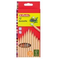 Creioane color natur 1/1 set 12 bucati Herlitz