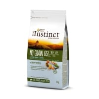 True Instinct Dog No Grain Med-Maxi Puppy cu Somon, 2 kg