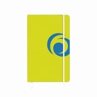 Bloc notes A5 88 file matematica coperta carton cu elastic sporty lemon