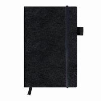 Bloc Notes A5 96 file veline coperta din piele sintetica cu elastic, motiv My Book Classic