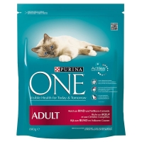 Purina ONE Adult Cu Vita Si Cereale Integrale, 800 g