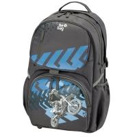 Rucsac Be.Bag ergonomic dimensiune 32x44x23cm, motiv Cube Motorracer Herlitz