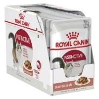 Royal Canin Instinctive Adult, bax hrană umedă pisici, (în aspic), 85g x 24