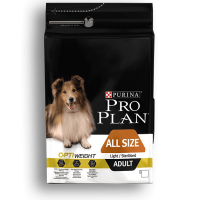Pro Plan Adult Light / Sterilised cu Pui, 3 kg