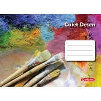 Caiet 24 file desen motiv Rock Your School
