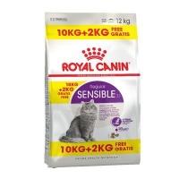 Royal Canin Sensible 33, 10 kg + 2 kg Gratis