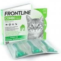 Frontline Combo Pisica, 3 pipete