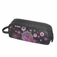 Necessaire Be.Bag Quattro, dimensiune 20,5x8x6,5cm, motiv Pink Butterflies Herlitz