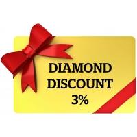 Card Membru Diamond 3%