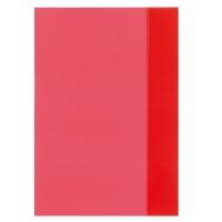 Coperta pp A4 rosu translucid Herlitz