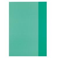 Coperta pp A4 verde translucid Herlitz