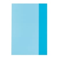 Coperta pp A5 albastru translucid Herlitz