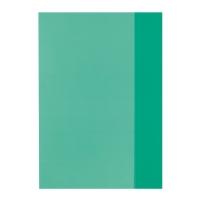 Coperta pp A5 verde translucid Herlitz