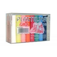 Plastilina Herlitz set 16 culori economic cutie plastic Herlitz