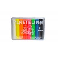 Plastilina Herlitz set 8 culori  fluorescente Herlitz